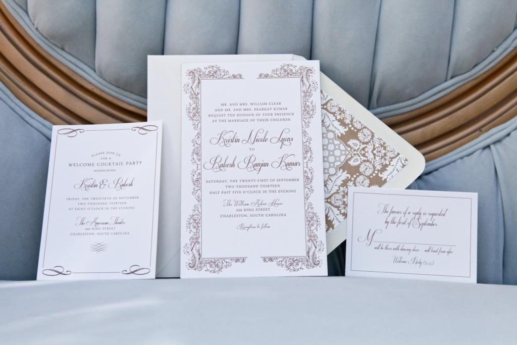Custom Wedding Invitation dodeline design Charleston SC Savannah GA – Affordable Custom Wedding Invitations