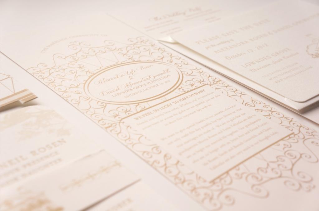 Charleston Sc Wedding Invitations: Plantation Wedding Invitation Charleston SC By Dodeline