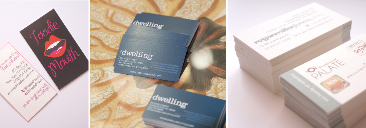 Charleston Business Card Design and Printing