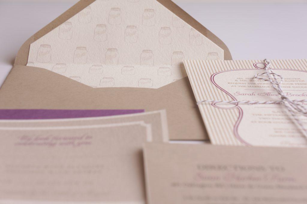 Cottage Mason Jar Wedding Invitation: Mason Jar Wedding Invitation Design By Dodeline