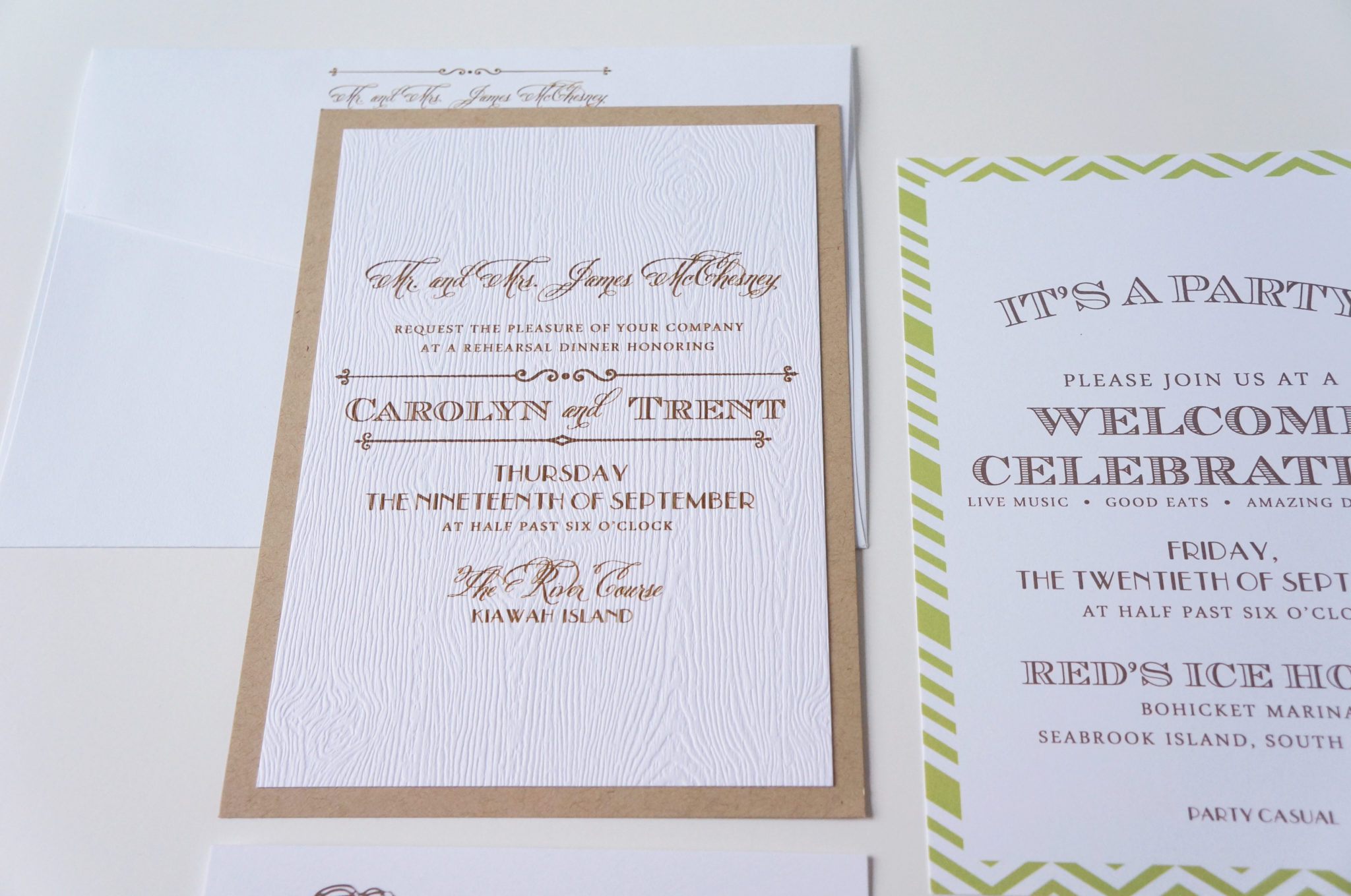 Wedding Welcome Dinner Invitation Wording: Charleston Rehearsal Dinner Invitation By Dodeline Design
