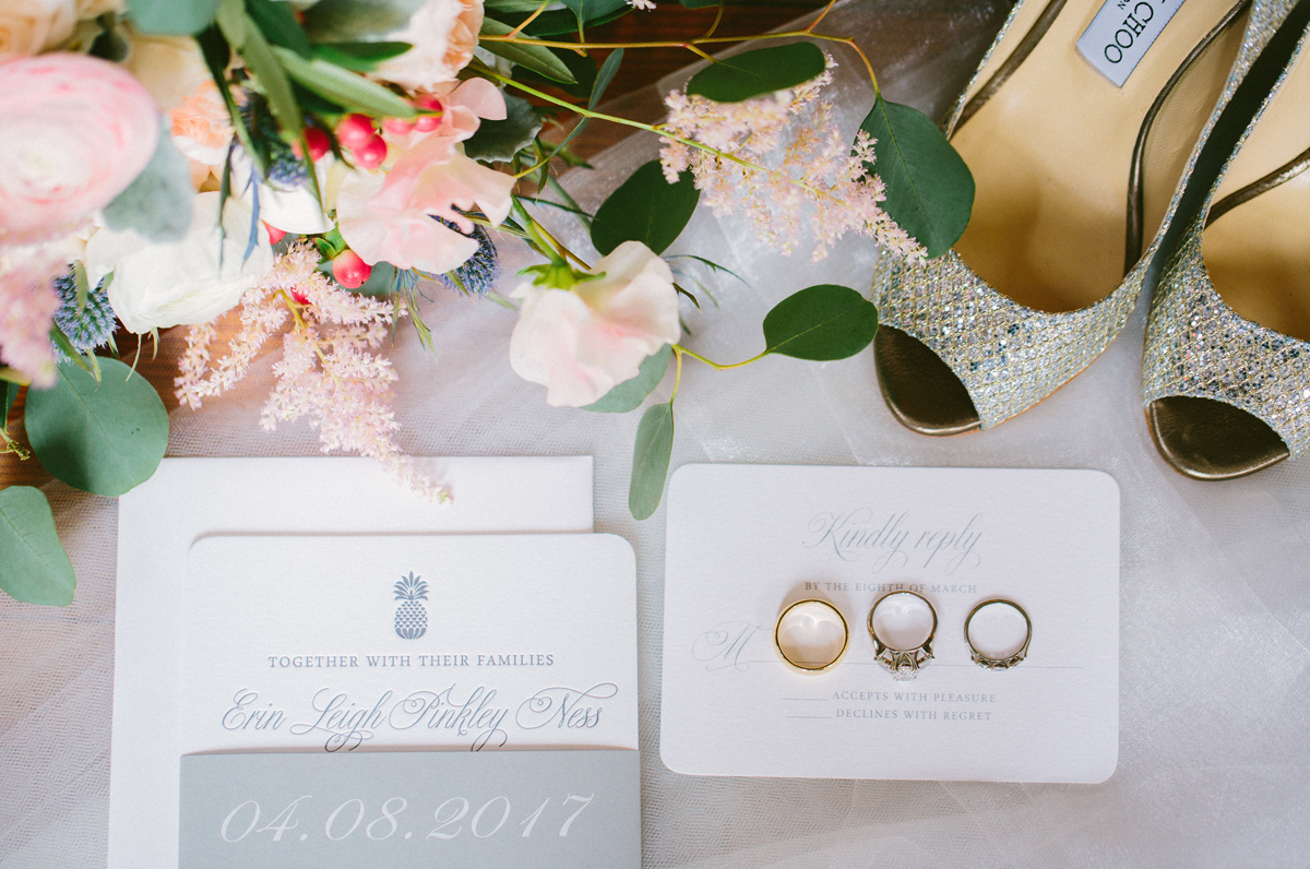 pineapple wedding invitation - Wedding Invitations, Charleston ...