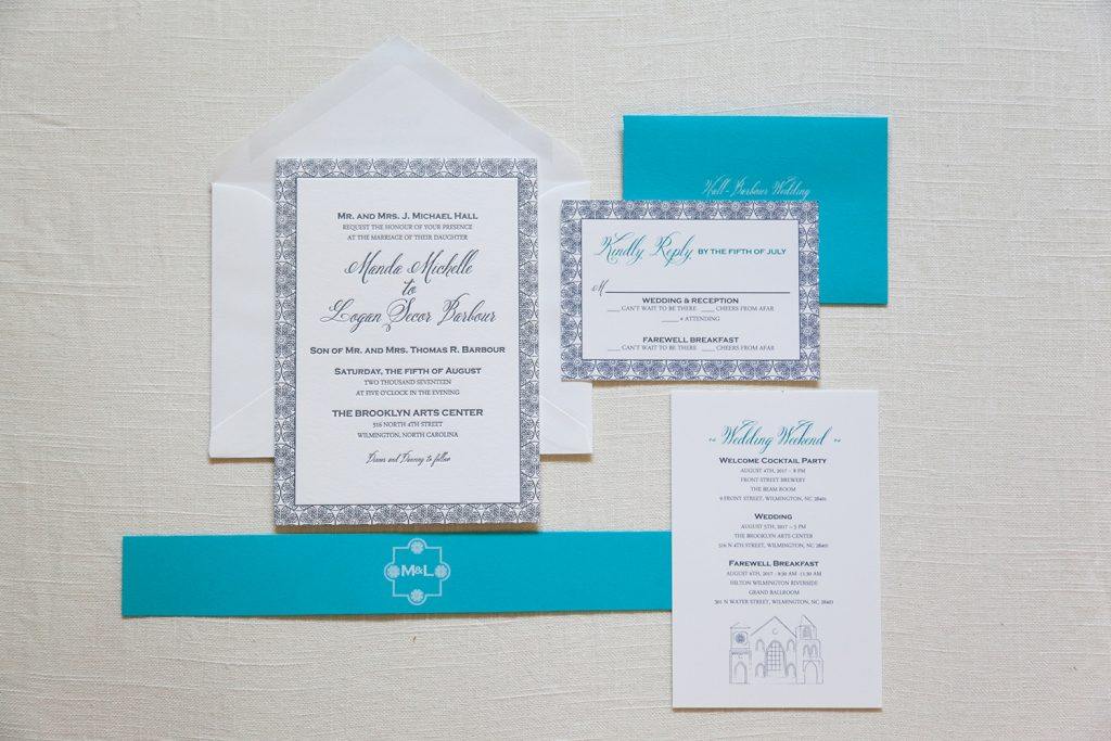 wilmington wedding invitation - Wedding Invitations, Charleston ...