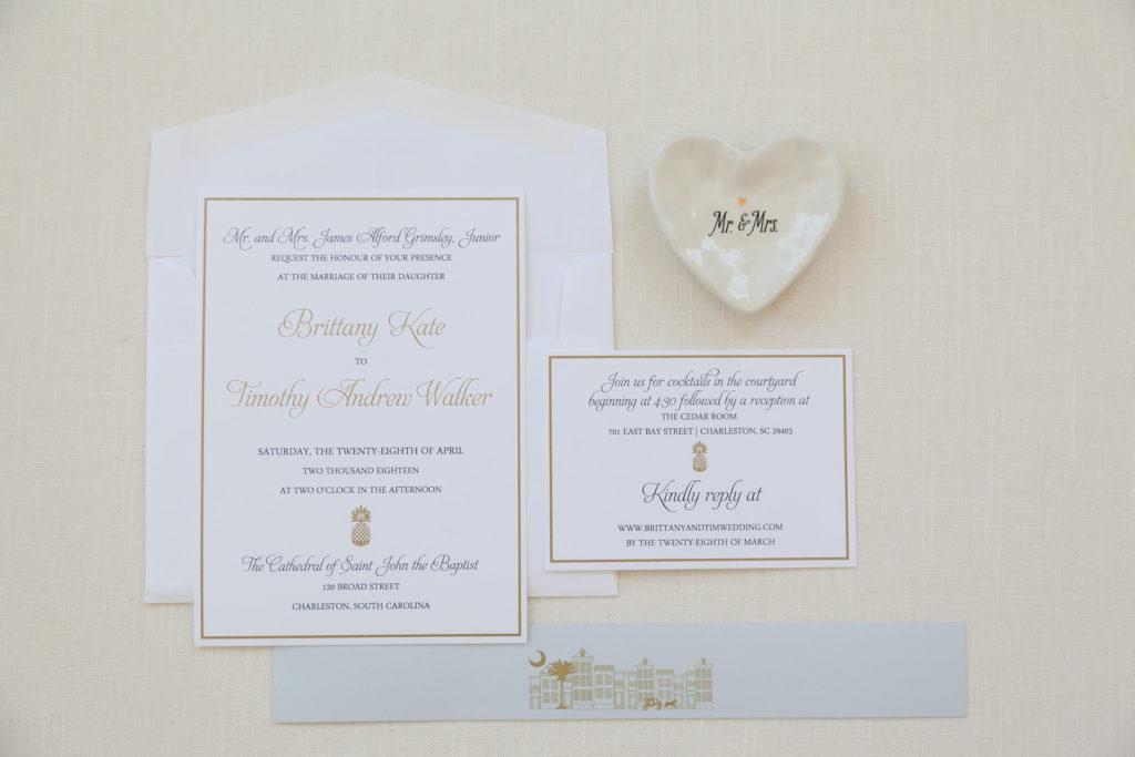 Classic Pineapple Wedding Invitation Wedding Invitations