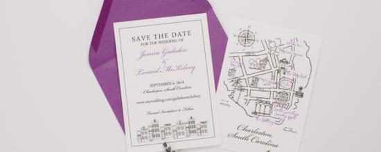 Charleston Sc Wedding Invitations: Dodeline Wedding Invitations